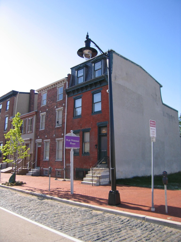 The Walt Whitman House by Leo Blake